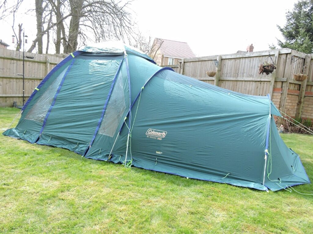 Coleman Bi-Space 300 - 3 Man Dome Tent & Coleman Bi-Space 300 - 3 Man Dome Tent | in St Georges Shropshire ...
