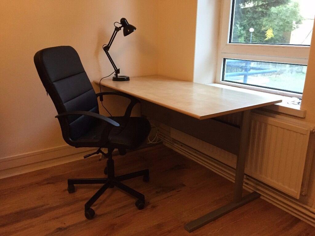 Delightful IKEA Fredrik Desk And Lamp Nice Ideas
