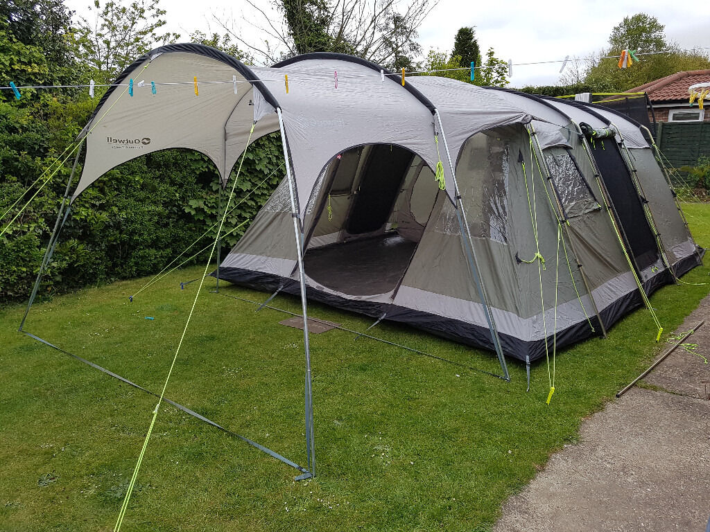 Outwell Montana 6 Tent and matching Outwell Canopy & Outwell Montana 6 Tent and matching Outwell Canopy | in Brough ...