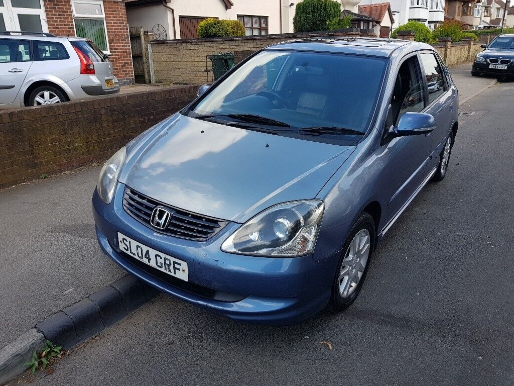2004 HONDA CIVIC 1.6LTRS MANUAL £725 NO LAST PRICE NO P/X CASH ONLY CALL  07404029829 NO TEXT MSSGES