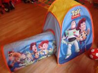 Toy story play pop up tent and tunnel & Pop up tent in Tyne and Wear | Stuff for Sale - Gumtree
