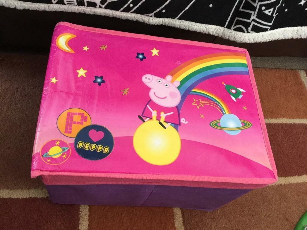 Two good sized Peppa pig storage boxes & Two good sized Peppa pig storage boxes | in Hartlepool County ...