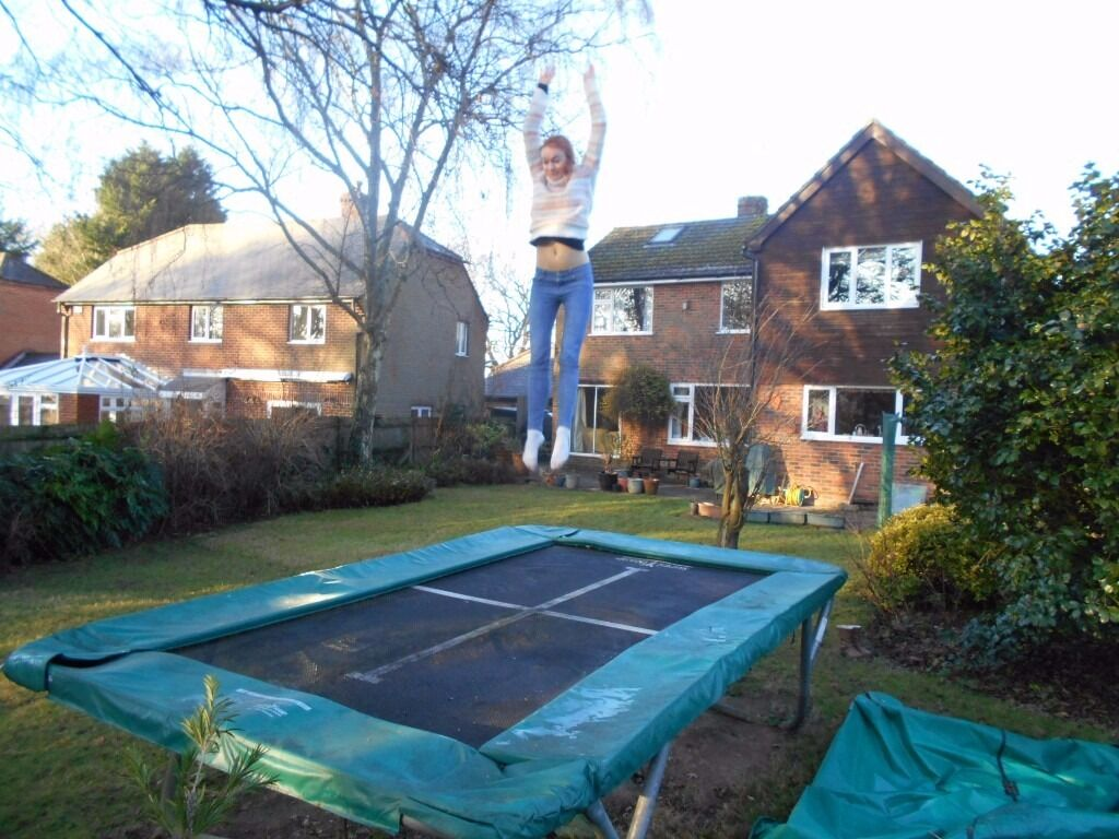 Supertramp Super Kangaroo Performance Rectangular Garden Trampoline