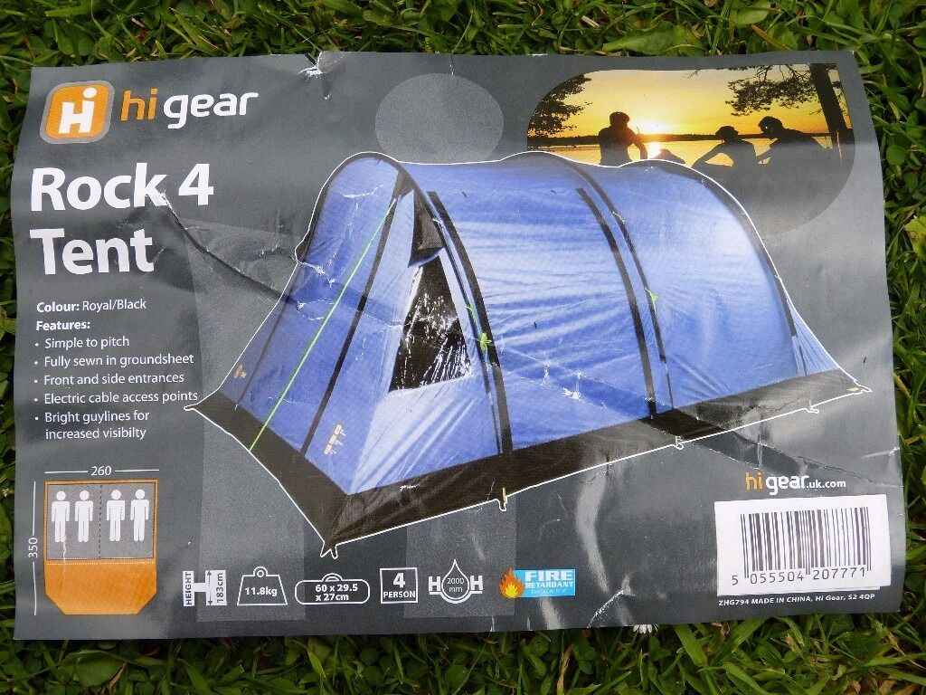 Rock 4 Tent (mint) & Rock 4 Tent (mint) | in Wareham Dorset | Gumtree