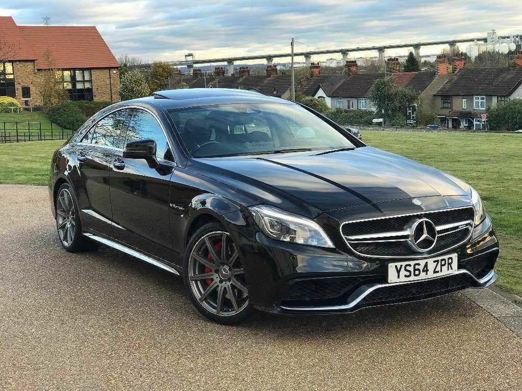 2015 Mercedes CLS 63 AMG S 5.5 Bi Turbo V8 Sports Sedan Saloon Black *FSH,  HIGH SPEC, VAT QUALIFYING