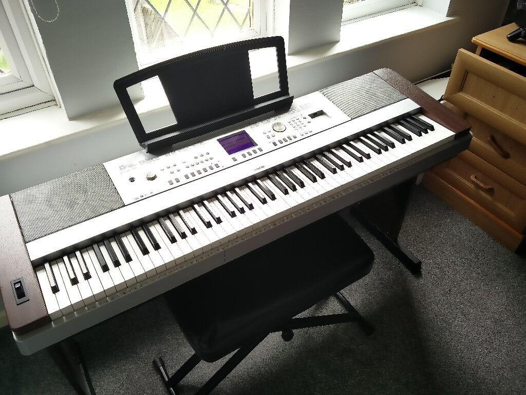 Yamaha DGX 640 88 Key Digital Piano + Stagg Piano Stool & Yamaha DGX 640 88 Key Digital Piano + Stagg Piano Stool | in ... islam-shia.org
