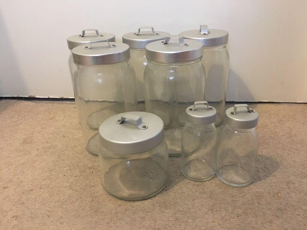 Amazing Ikea Burken Storage Jars, Glass With Lids