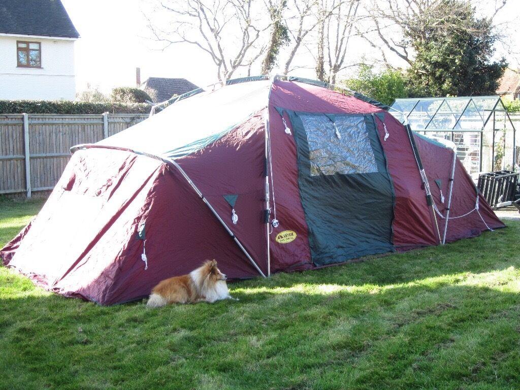 Khyam Ridgi Dome XXL Large 6-8 Berth/Man Tent Family C&ing Great Quality & Khyam Ridgi Dome XXL Large 6-8 Berth/Man Tent Family Camping Great ...