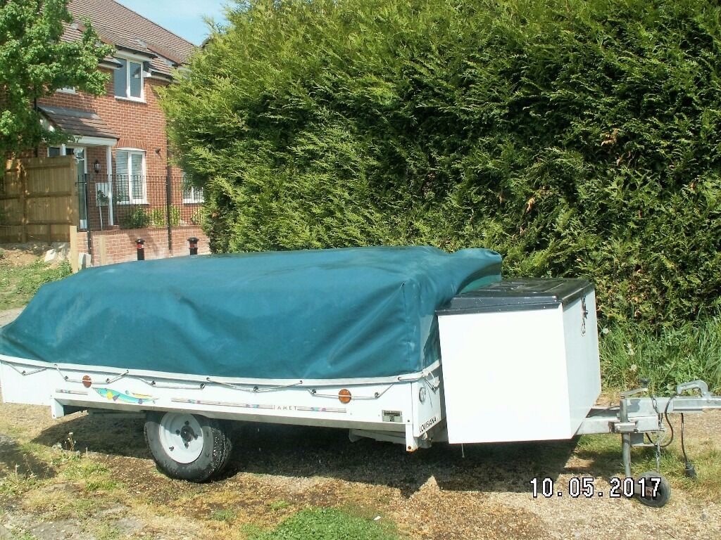Jamet Louisiana Trailer Tent & Jamet Louisiana Trailer Tent | in Andover Hampshire | Gumtree