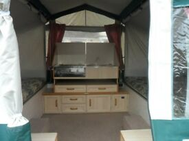 Conway Challenger .folding c&er/trailer tent..now reduced. & Macpac Minaret lightweight 2 person tunnel tent suitable for 3 ...