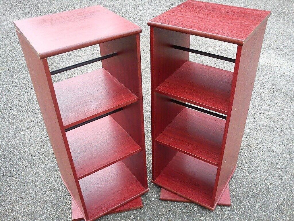 Pair Rotating 2 Sided CD / DVD / BOOK Storage Units & Pair Rotating 2 Sided CD / DVD / BOOK Storage Units | in Soham ...