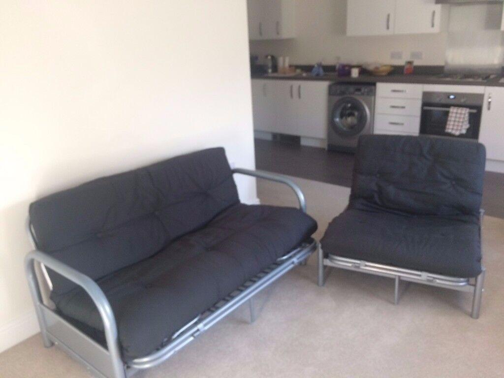 double and single futon set from argos  sofa bed  double and single futon set from argos  sofa bed    in witney      rh   gumtree