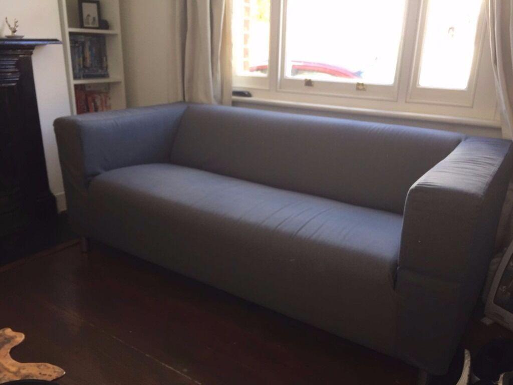 Merveilleux Ikea KLIPPAN Grey Sofa 2 Seater. Like New!