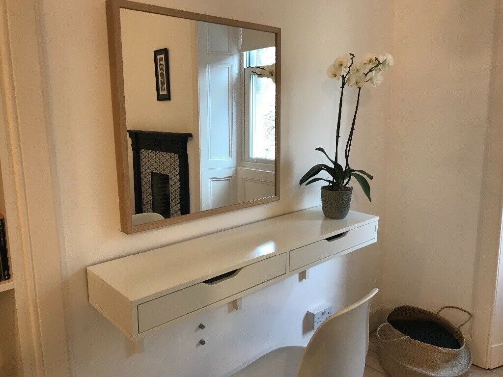 Bon Console / Shelf With Drawers / Dressing Table / IKEA Ekby Alex