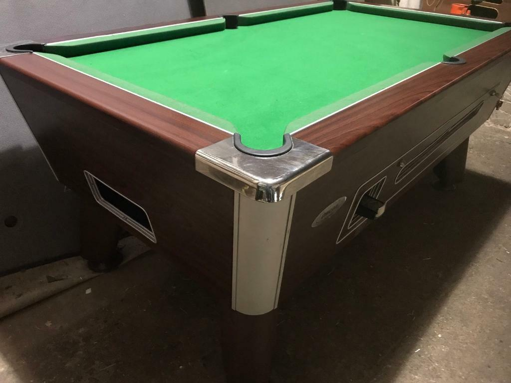 Pool Table 6 X 3 Ft Slate Bed   Ask About Delivery 4 Xmas