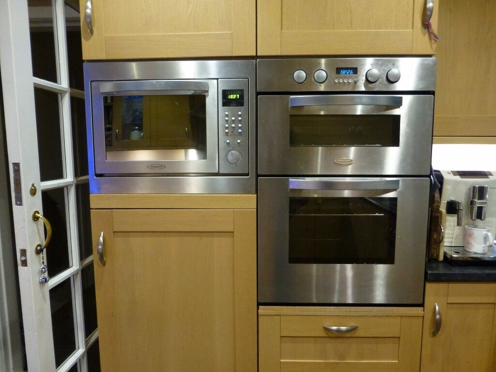 Built In Double Fan Oven Part - 30: Hotpoint Built-in Double Multi-function Fan Oven With Matching Built-in  Combination