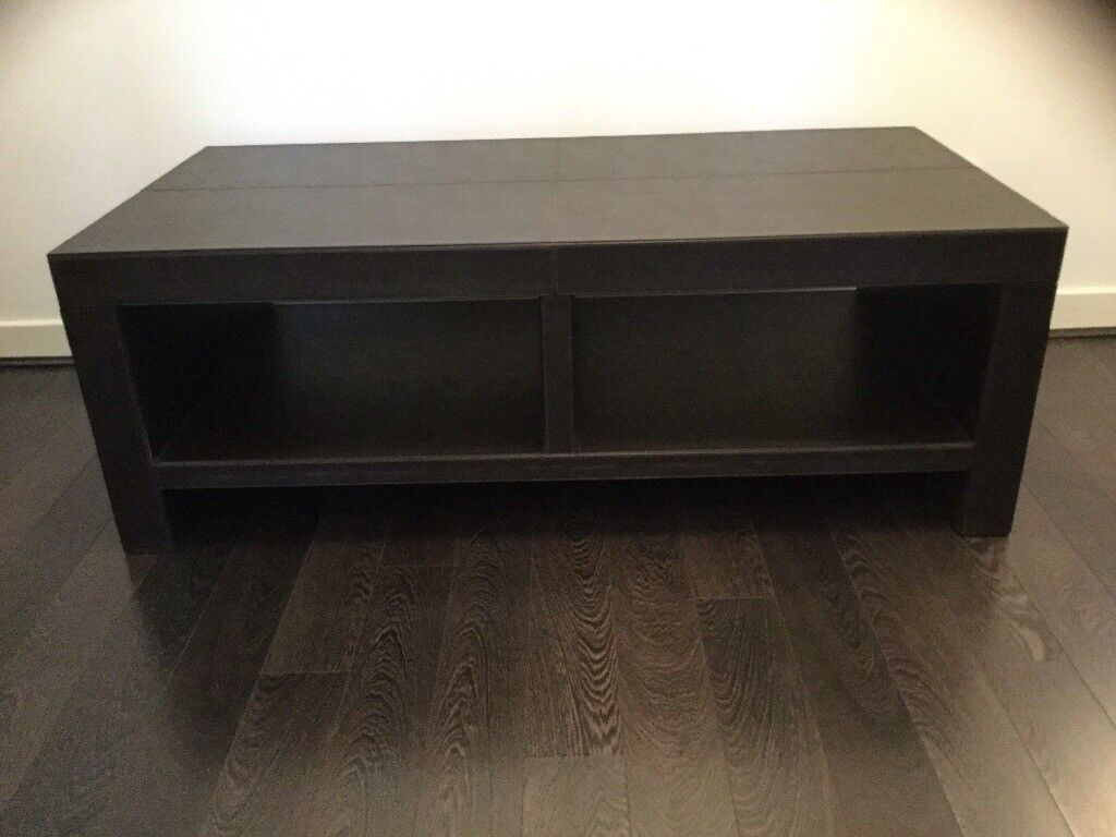 Next Brown Faux Leather Coffee Table