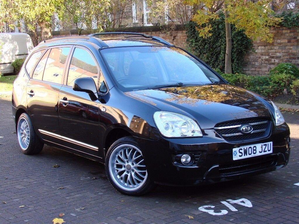 Good AA WARRANTY!! 2008 KIA CARENS 2.0 CRDi GS 5dr (7 SEATS) AUTO, DIESEL, 1  YEAR MOT, AA WARRANTY