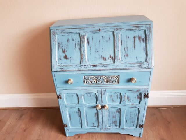 Vintage Upcycled Bureau. A Unique Piece Of Furniture To Add To Your Home.  This Is A One Off Piece.