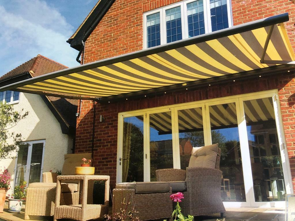 Electric patio awning (Eden) 4mX3m & Electric patio awning (Eden) 4mX3m | in Holt Norfolk | Gumtree