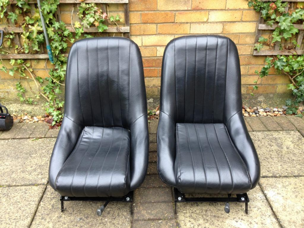 CLASSIC MINI COBRA CUB BUCKET SEAT U0026 FRAMES / HOT ROD / KIT CAR