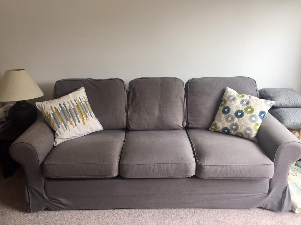 Ikea Ektorp Sofa Bed For Sale Dark Grey