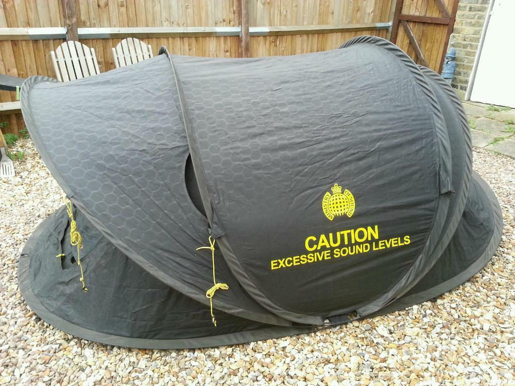 Ministry of Sound 2 man pop up tent & Ministry of Sound 2 man pop up tent | in Clapham London | Gumtree