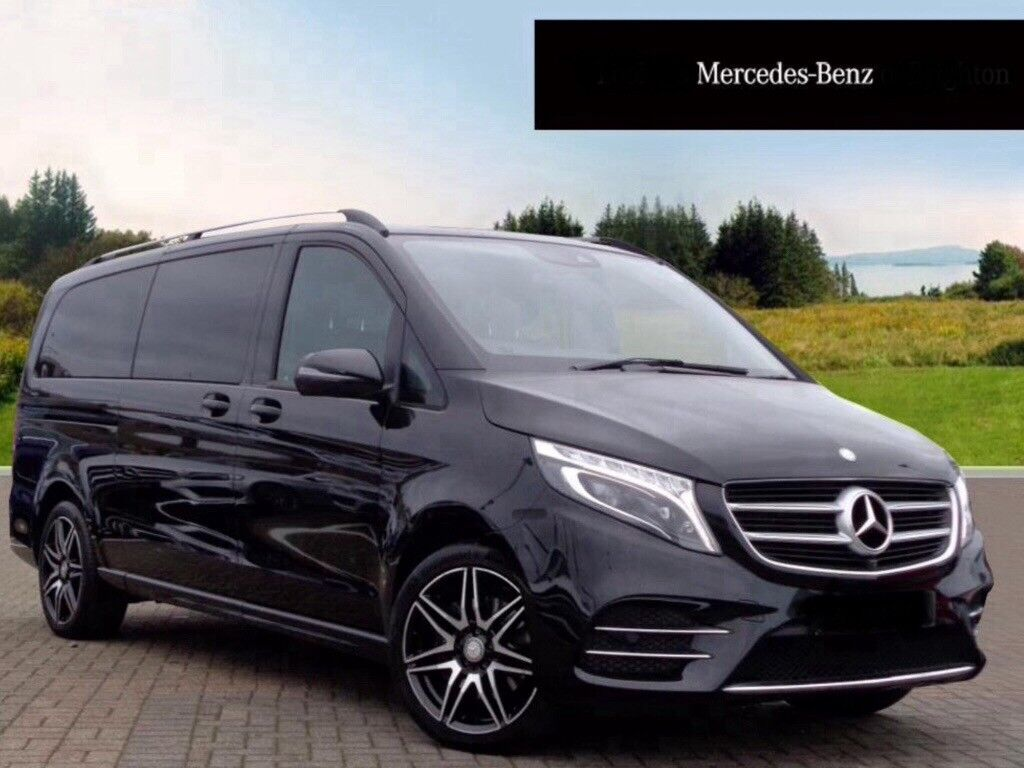 CHAUFFEUR CAR SERVICES MERCEDES V250 AMG AIRPORTS THEATRE CORPORATE  BUSINESS SPORTS
