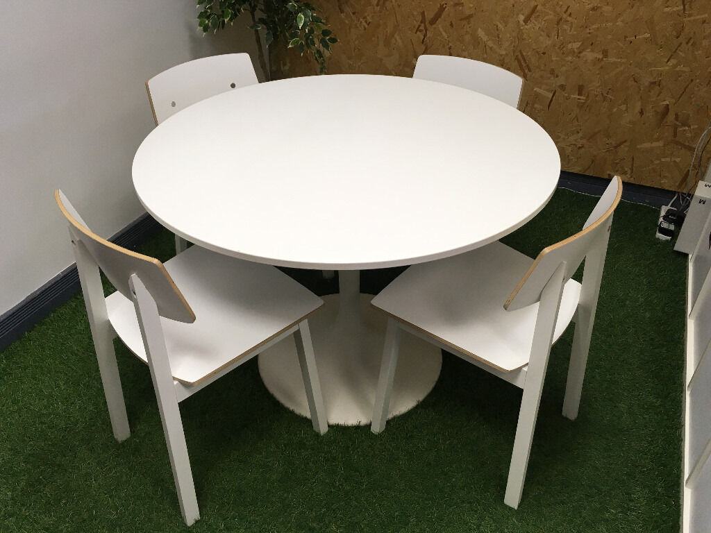Ikea Docksta Table U0026 4 Sigurd Chairs