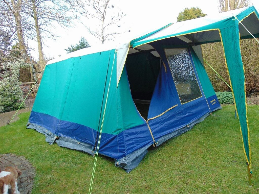 Large 6 berth Continental frame tent sunc& 6 & Large 6 berth Continental frame tent suncamp 6 | in Stoke-on-Trent ...