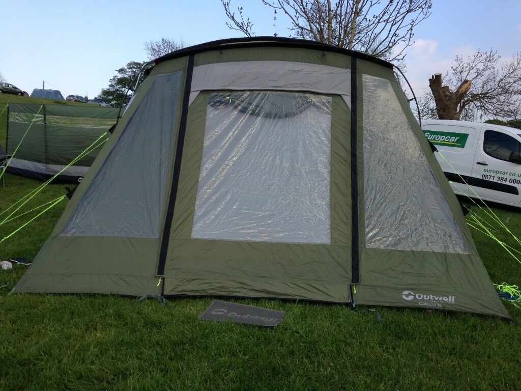 Outwell Oakland XL Tent with many extras for sale - just pitch up and go ! & Outwell Oakland XL Tent with many extras for sale - just pitch up ...