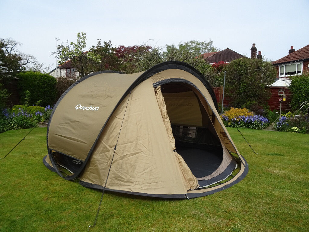 Quechua 3 man pop up tent & Quechua 3 man pop up tent | in Manchester | Gumtree