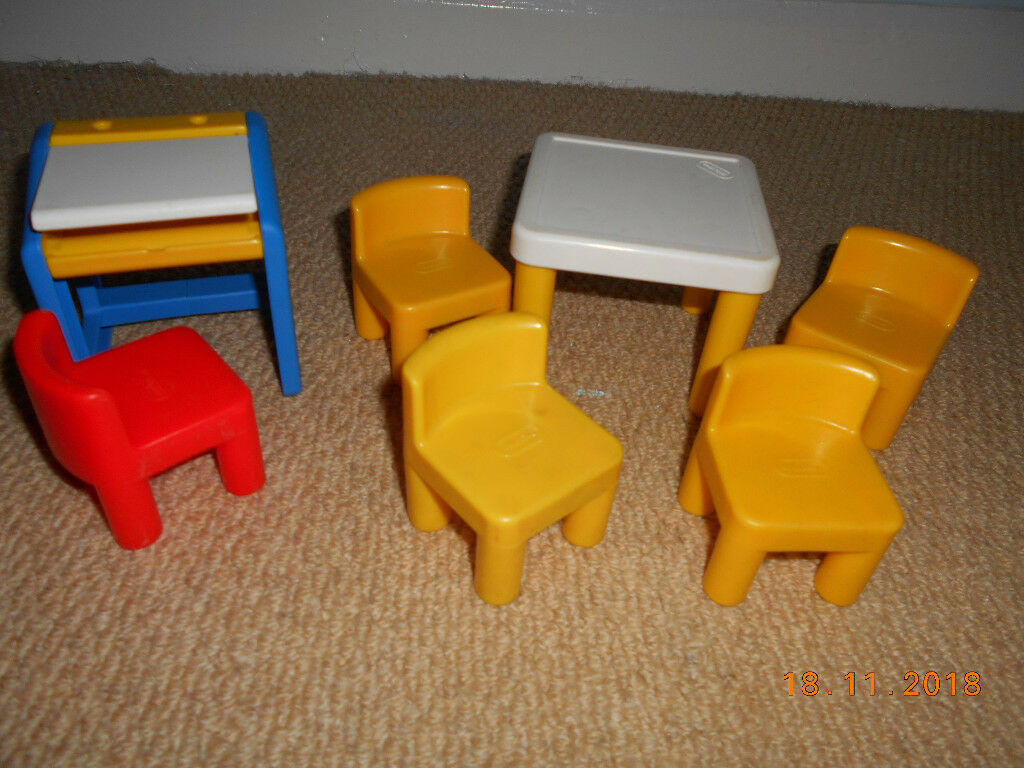 Little Tikes Dolls House Furniture Good Clean Used Condition | In Barnsley,  South Yorkshire | Gumtree