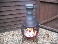 Patio Chimnea Wood Burner