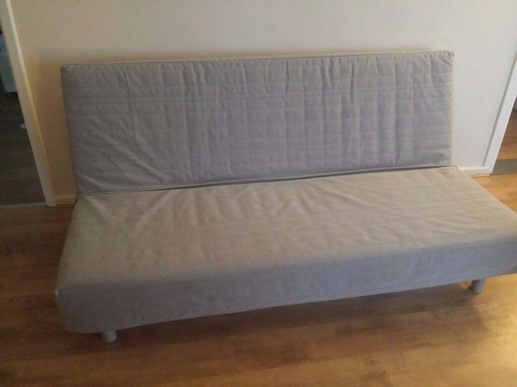 beddinge sofa bed futon ikea good condition havet best mattress full three seat sofa  beddinge sofa bed futon ikea good condition havet best mattress      rh   gumtree