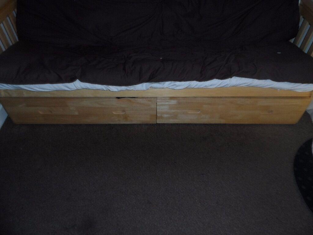 cuba futon sofa bed with underbed storage   in southampton hampshire   gumtree cuba futon   roselawnlutheran  rh   roselawnlutheran org