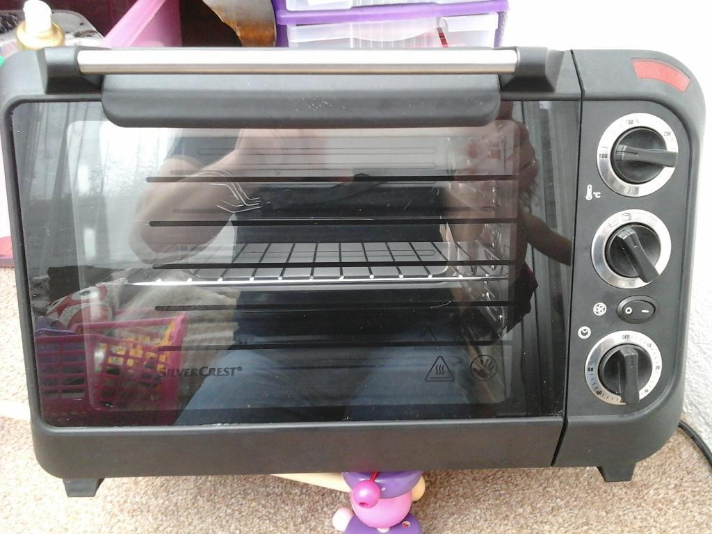 Ordinary Electric Oven And Grill Part - 12: Mini Oven And Grill, Used Once. Electric Silvercrest.