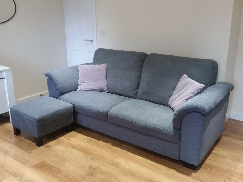 Superb IKEA TIDAFORS Sofa Set   Available To Collect Now   Hensta Grey   Three  Seater/