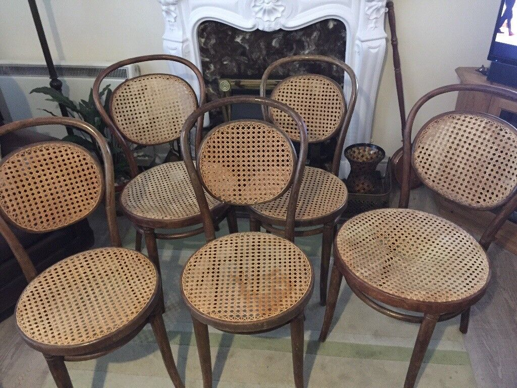 Incroyable Ratan Chairs X5 Used One Needs Seat Renovation Looking For £50 The Lot  Buyer Must