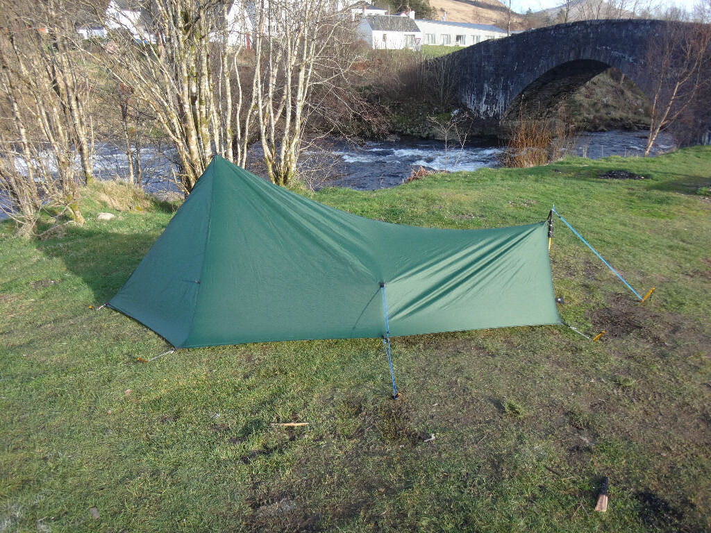 Tarp tent - 1 man super lightweight NEW (trekkertent stealth 1) & Tarp tent - 1 man super lightweight NEW (trekkertent stealth 1 ...