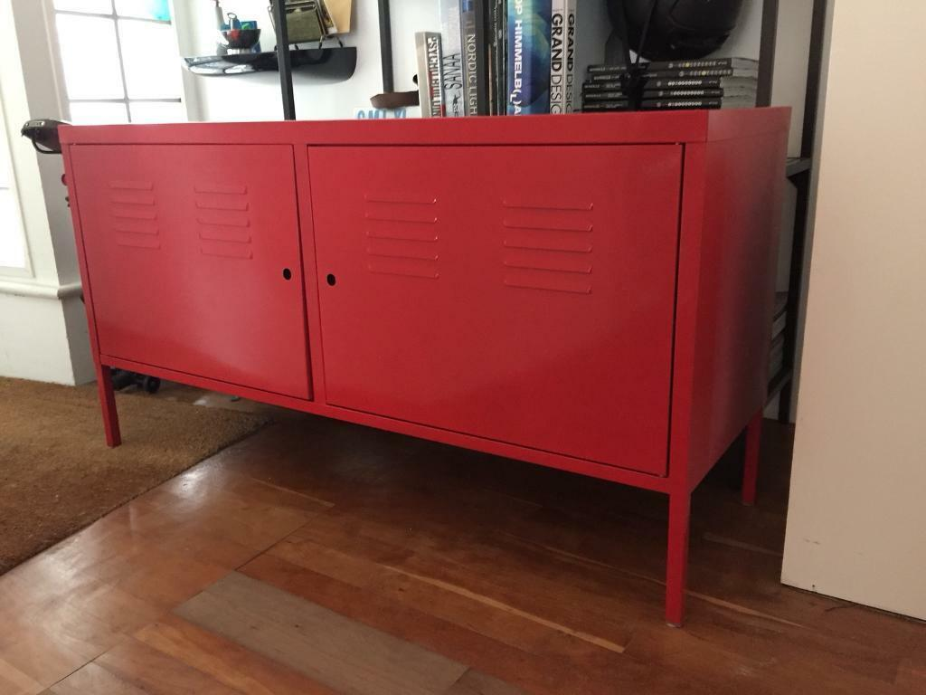 Red Cabinet Ikea PS