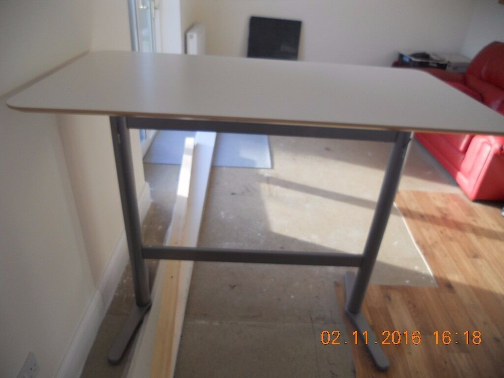IKEA U0027Billstau0027 Bar Table Breakfast Bar   White   130 X 70 Cm