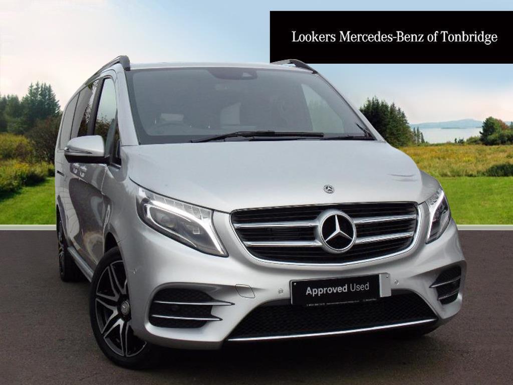 Mercedes Benz V Class V 250 D AMG LINE XL (silver) 2017