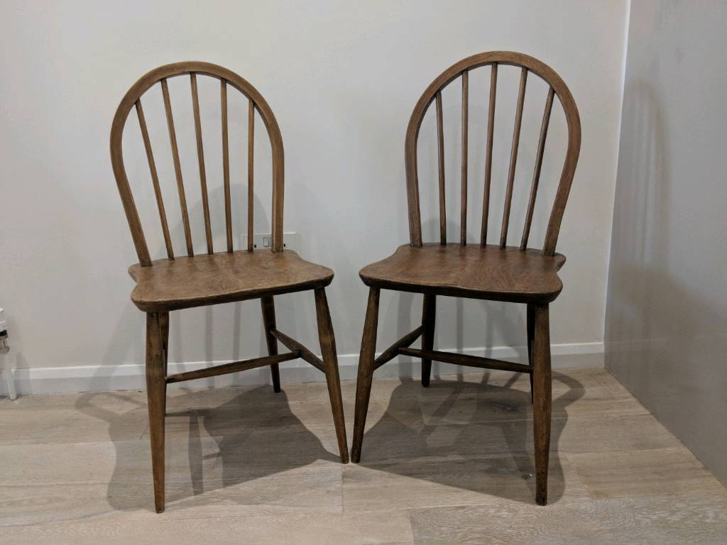 Pair of Ercol Originals Windsor Chairs | Vintage Antiques | Great Condition & Pair of Ercol Originals Windsor Chairs | Vintage Antiques | Great ...