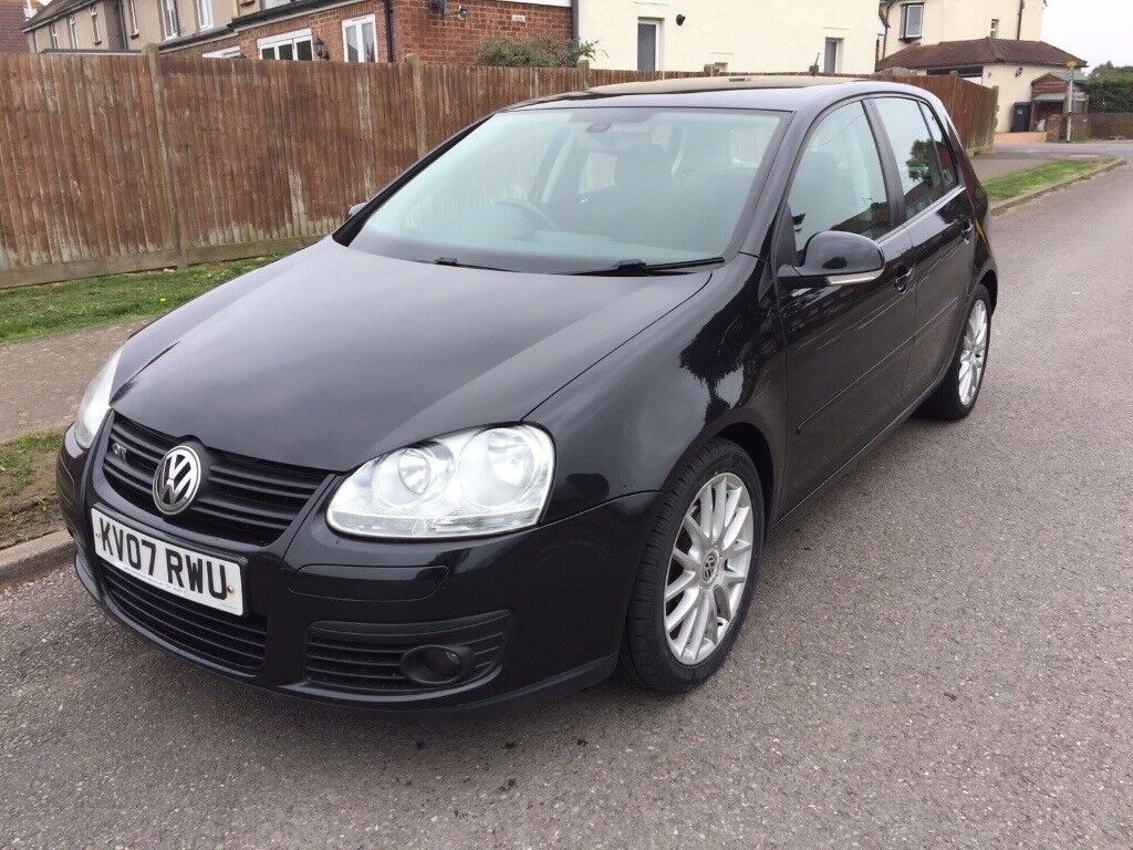 Volkswagen Golf GT. 2.0 TDI Automatic. New MOT. Cambelt And Water Pump  Replaced
