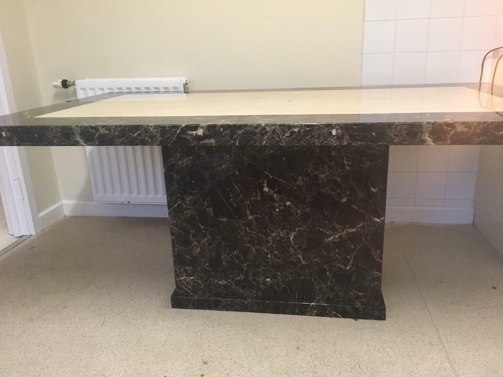 Real Marble Table