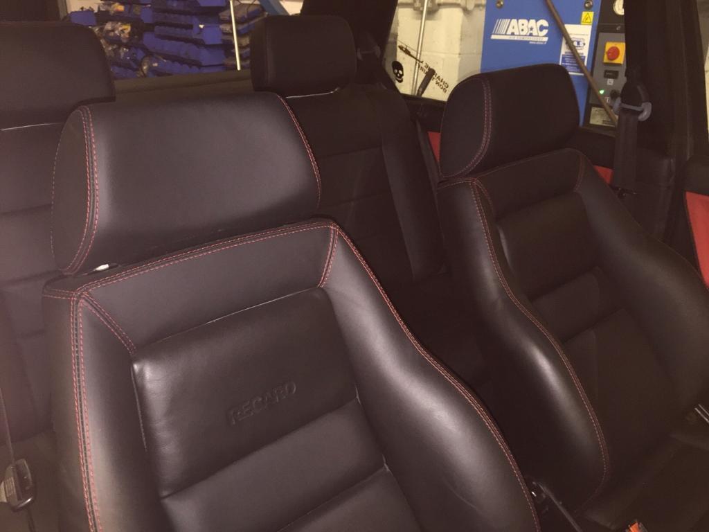 Volkswagen VW Mk2 Golf   Recaro 3 Door Custom Leather Interior