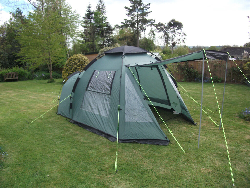 Khyam Freelander 3 Berth Quick Erect Tent - only used a few times & Khyam Freelander 3 Berth Quick Erect Tent - only used a few times ...