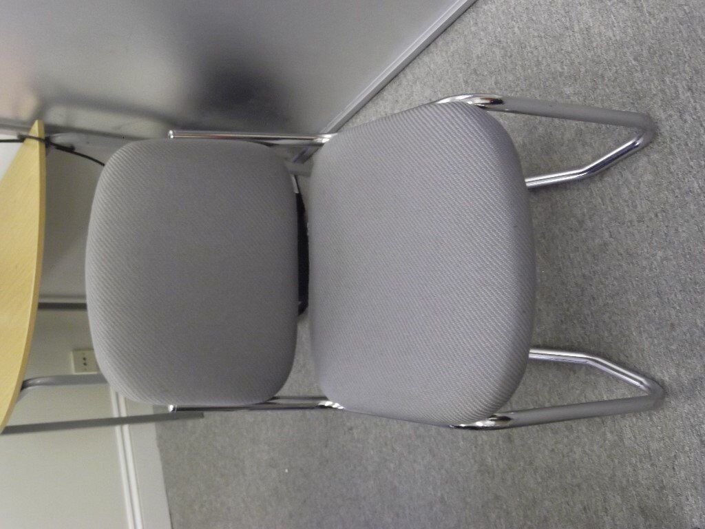 Chrome And Upholstery Chairs. NO LONGER HAVE FIRE RETARDANT LABELS