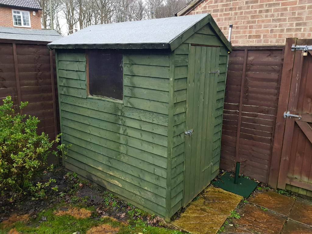 Delicieux GARDEN SHED 6ft X 4ft